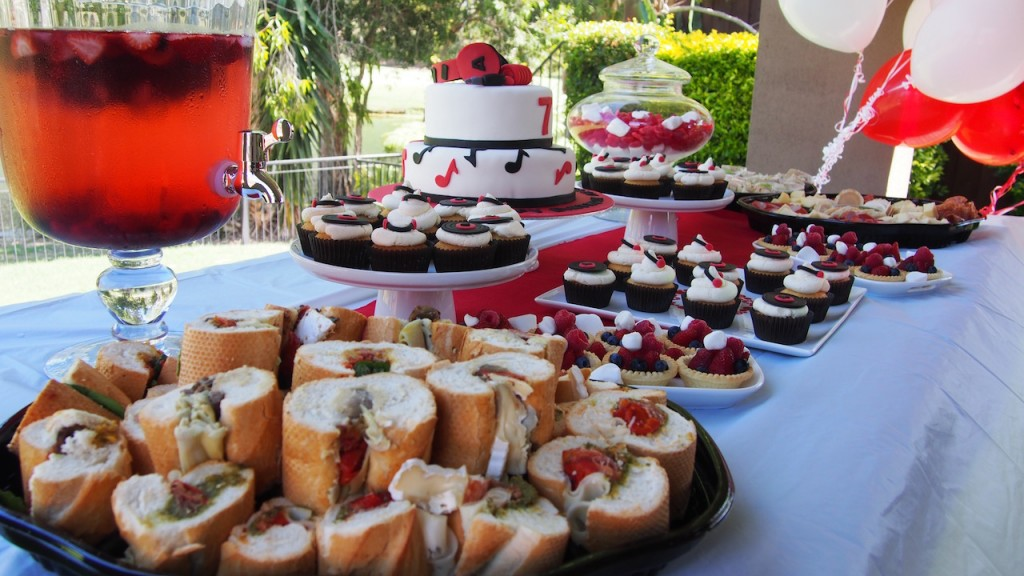 Birthday Cakes and Food