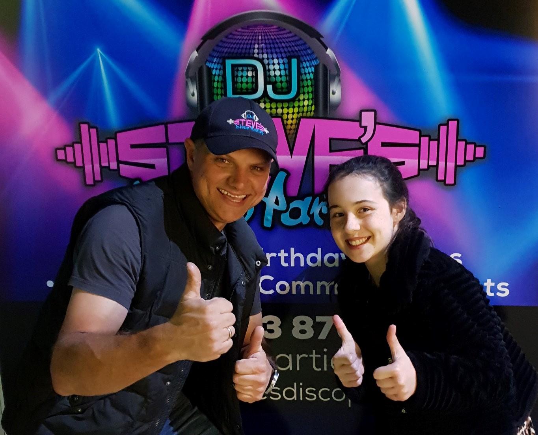 DJ Steve at party